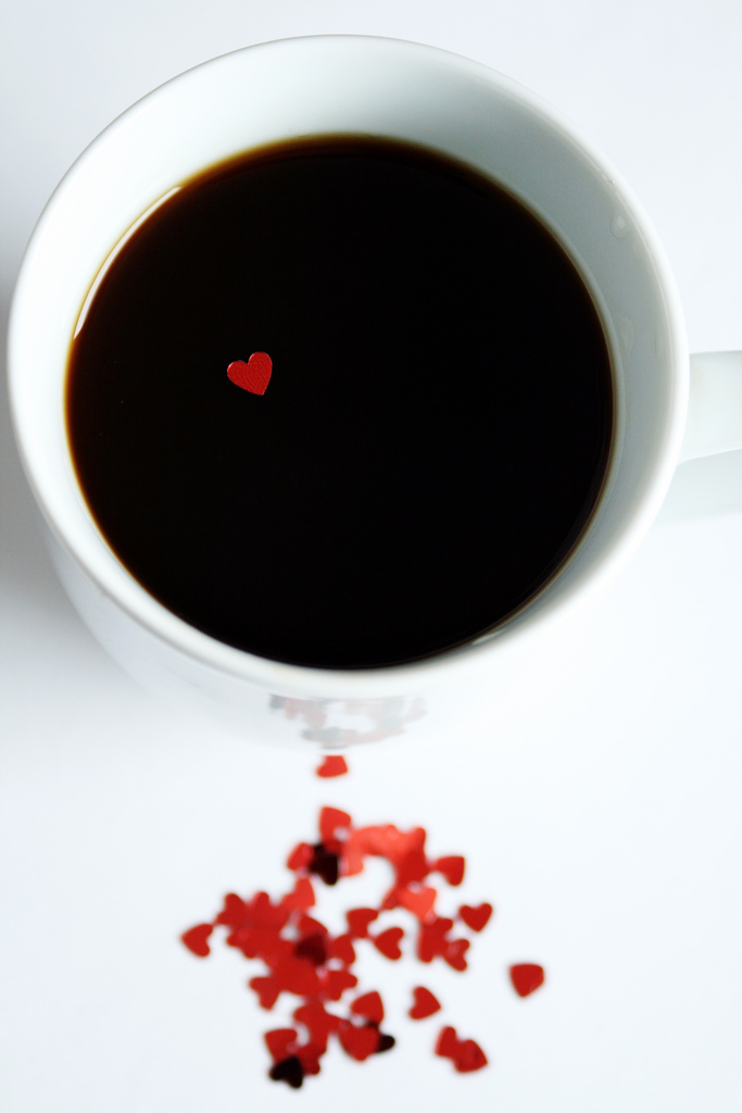 Valentines Day Coffee- Happy Valentines Day Coffee Heart