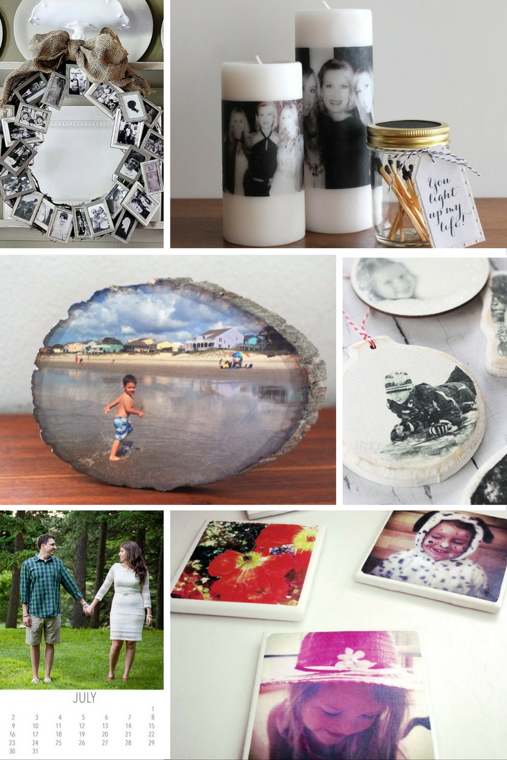 10 DIY Photo Gifts to make