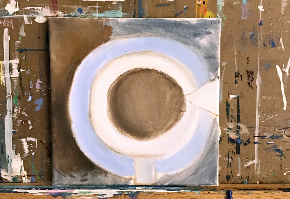 Coffee Work in Progress - Step One