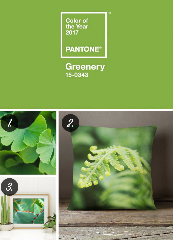 2017 Color of the Year Greenery