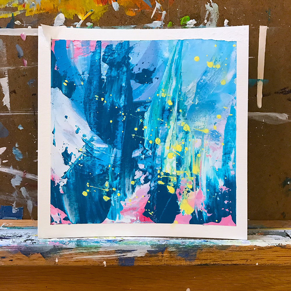 #The100DayProject - fun abstract by april bern