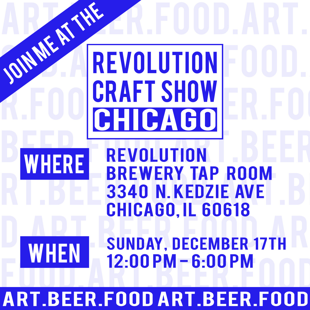 Revolution Craft show Chicago featuring april bern photography