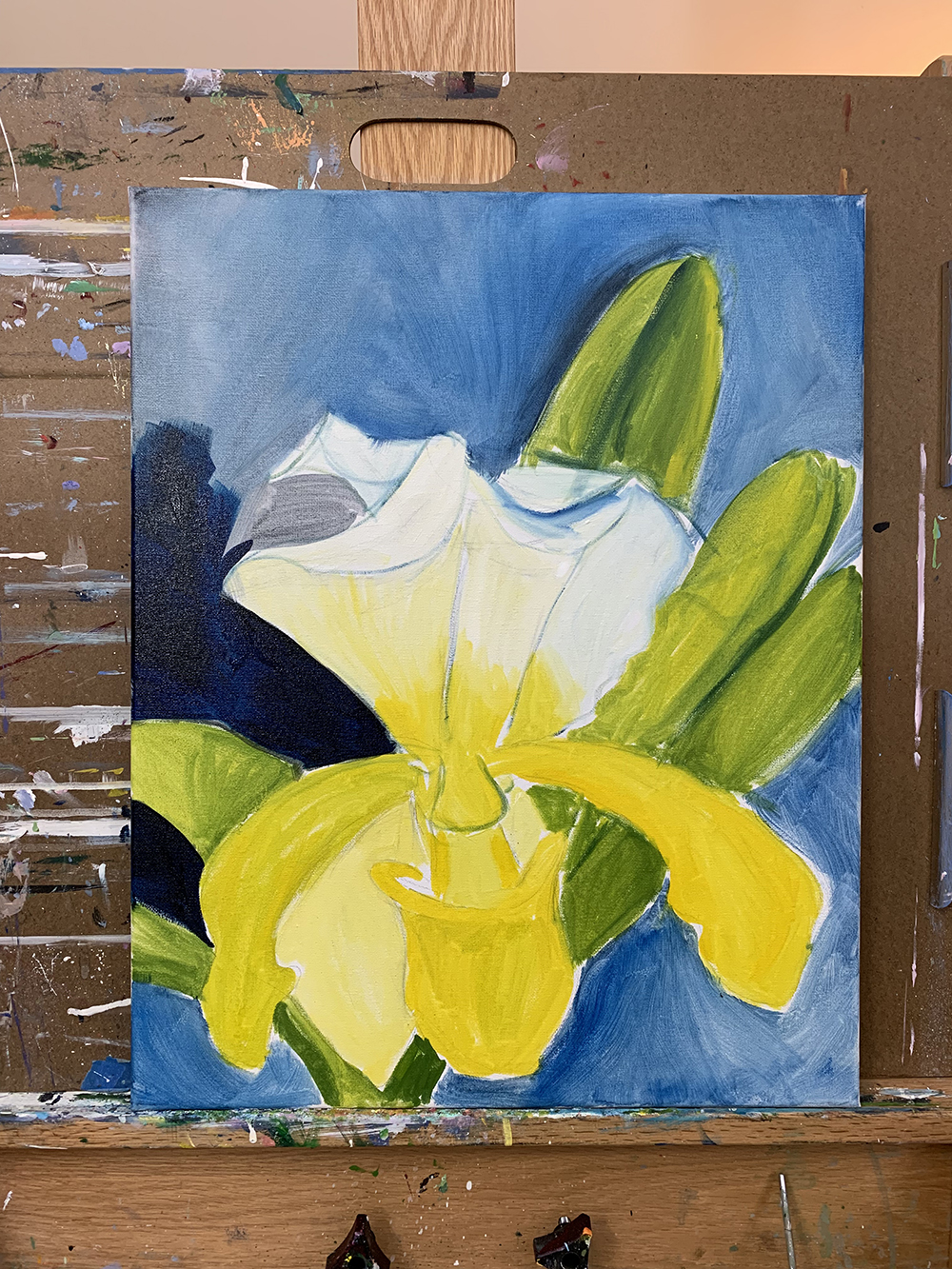 lady slipper orchid painting 01.jpg