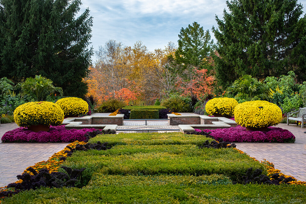 Fall at the Chicago Botanic Garden