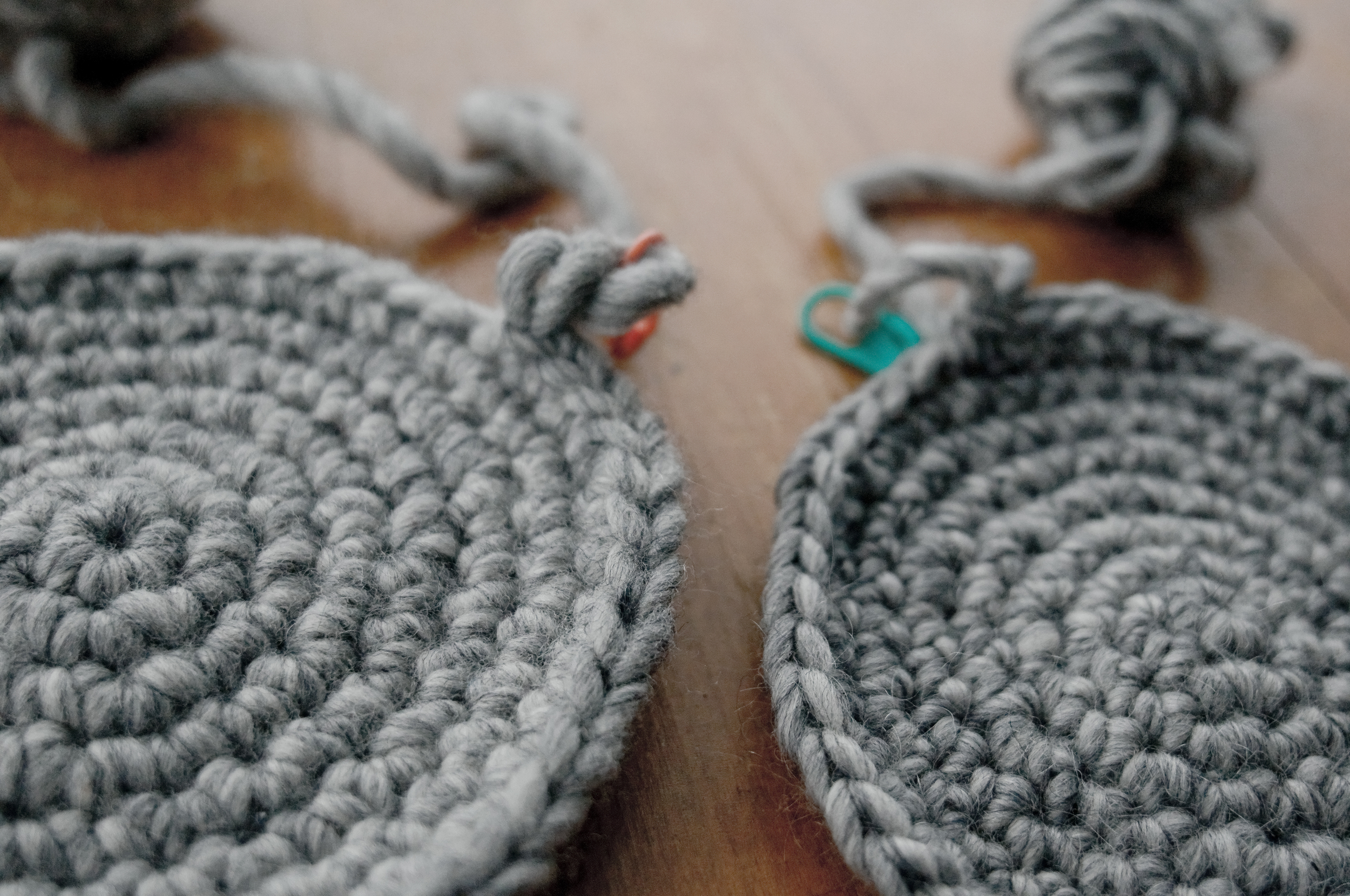 A close-up, for the crochet nerds!