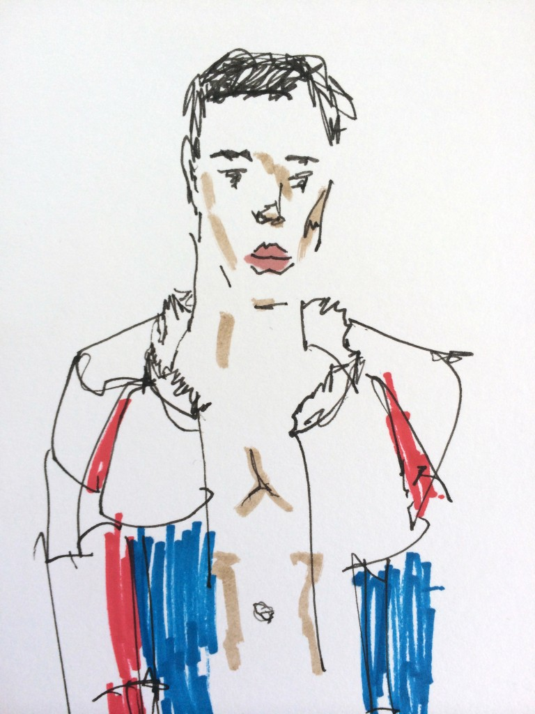 SS15 Illustration by Danny Keeling on Candid Magazine