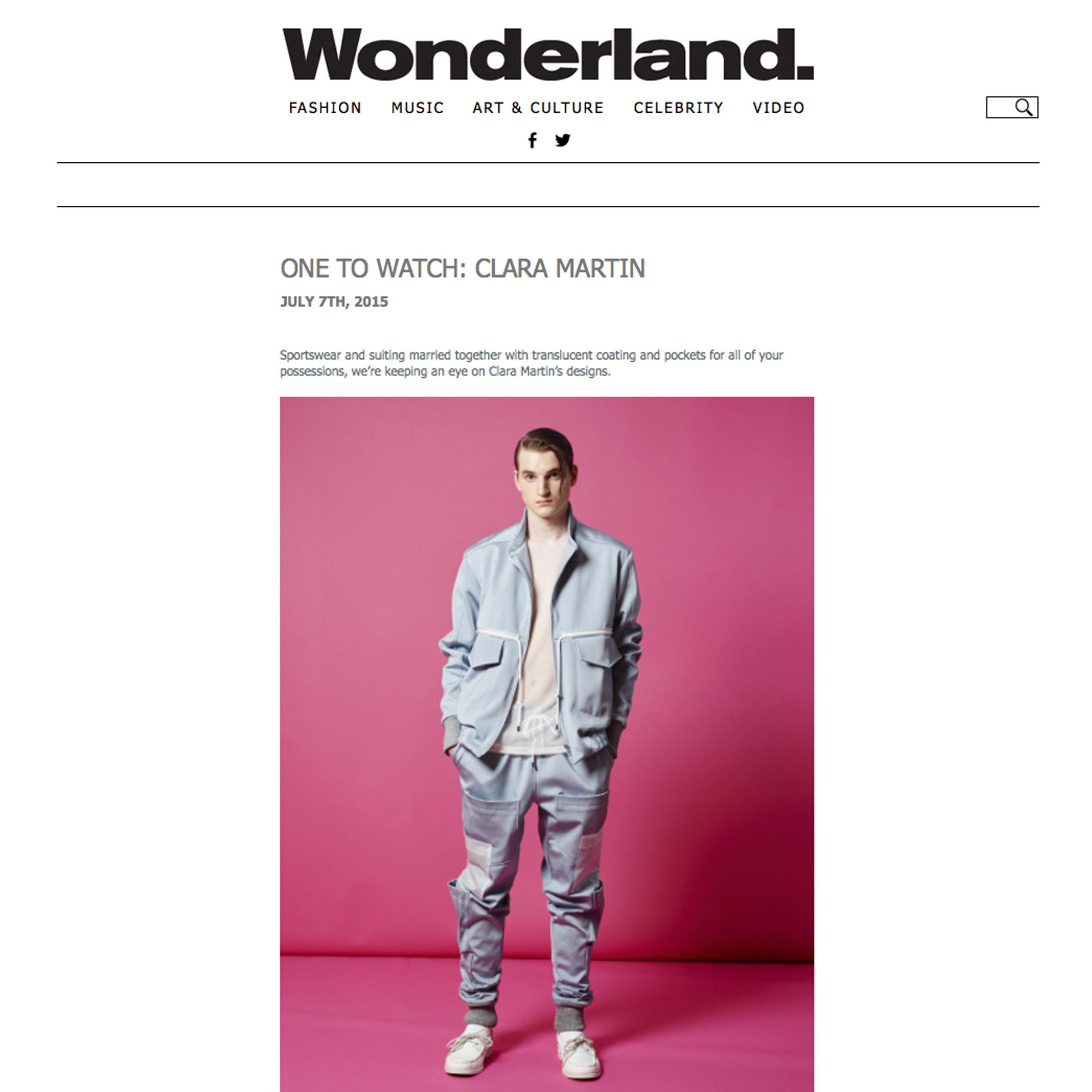 Wonderland Feature