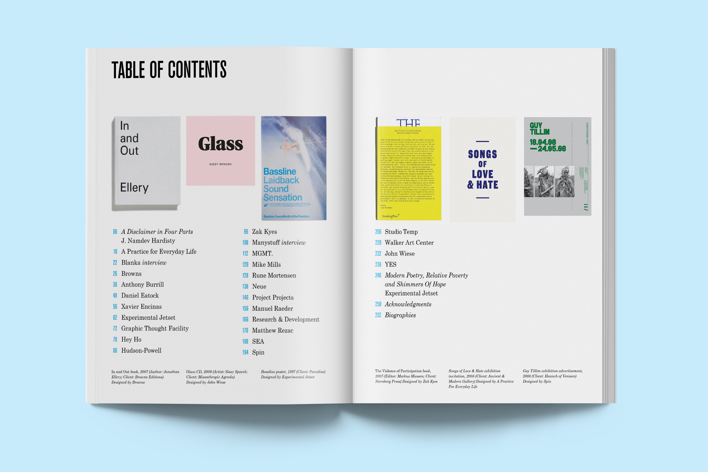 Function, Restraint & Subversion in Typography book — THE