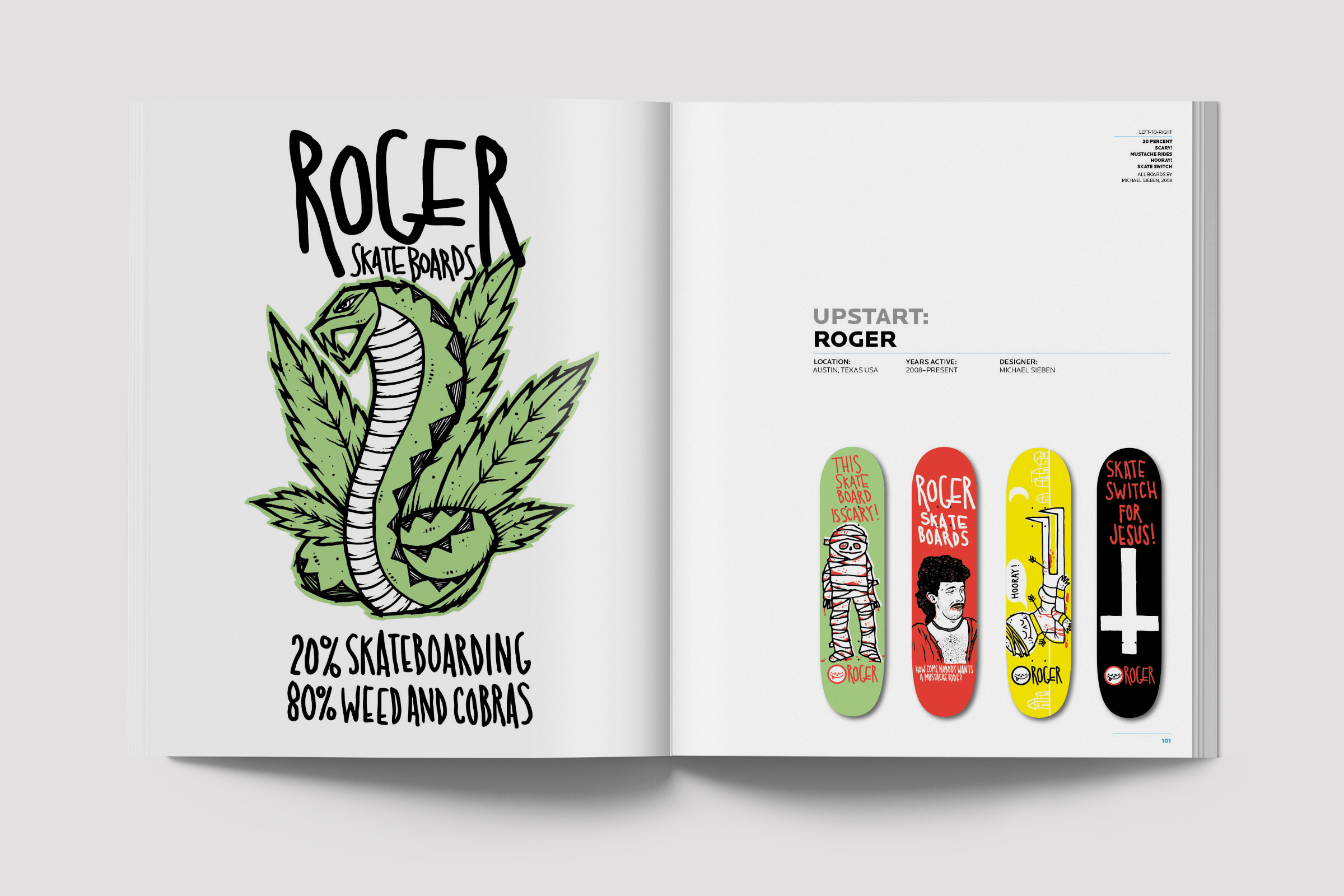 New Skateboard Graphics book — THE MVA STUDIO