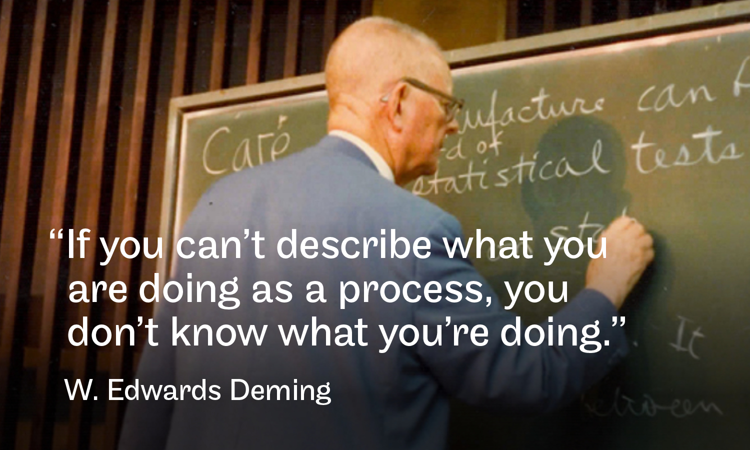 Image via  The W. Edwards Deming Institute