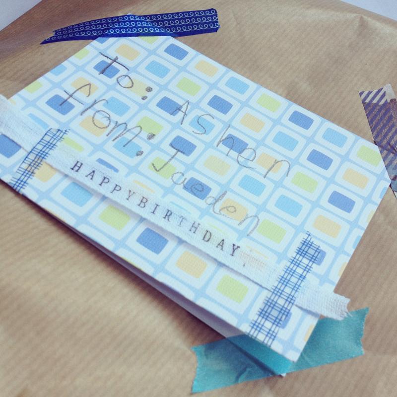 kids singapore decorate creativity birthday gift present washi tape