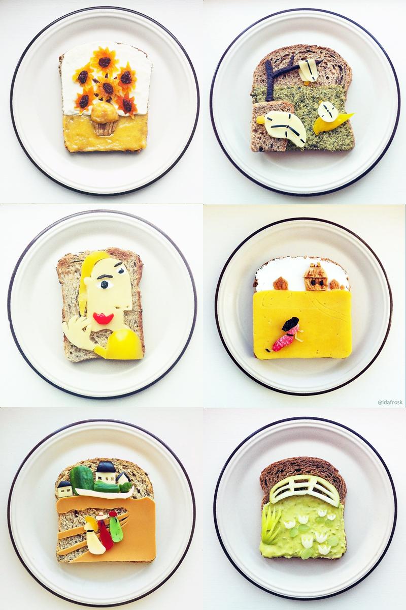 toast art project by idafrosk creativity spotlight singapore