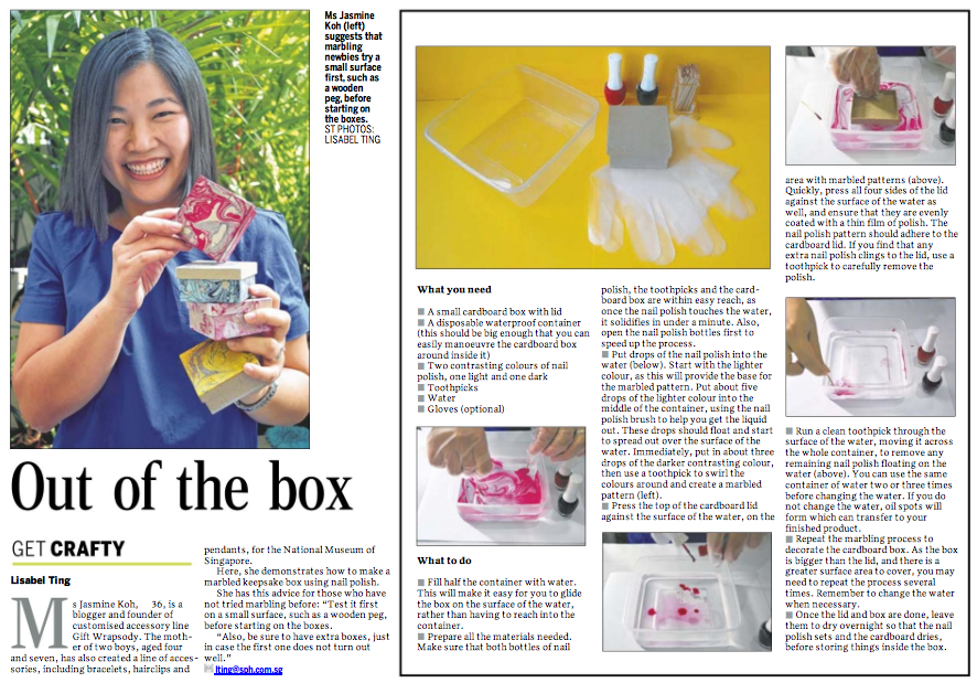 straits times get crafty marbled keepsake box jasmine koh blog nail polish craft diy