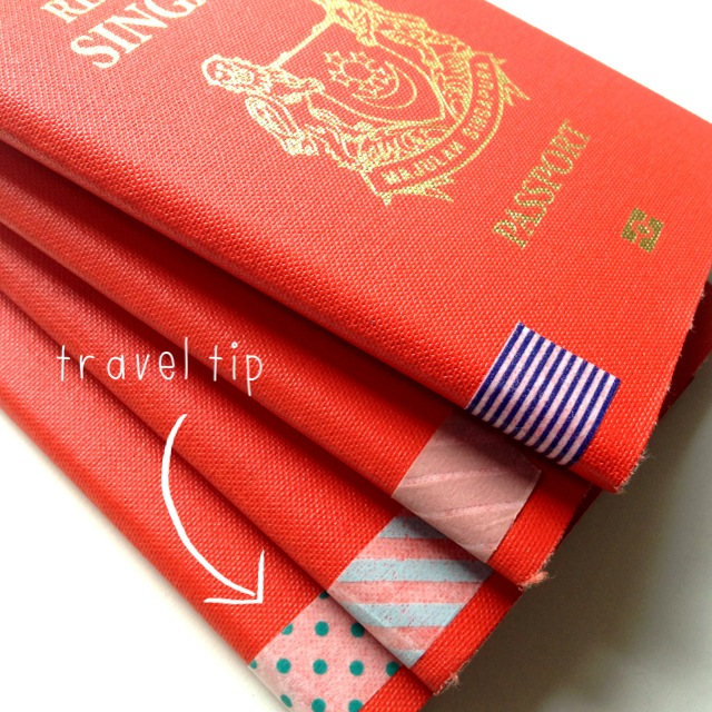Passport Travel Tip | Scissors Paper Stone Blog