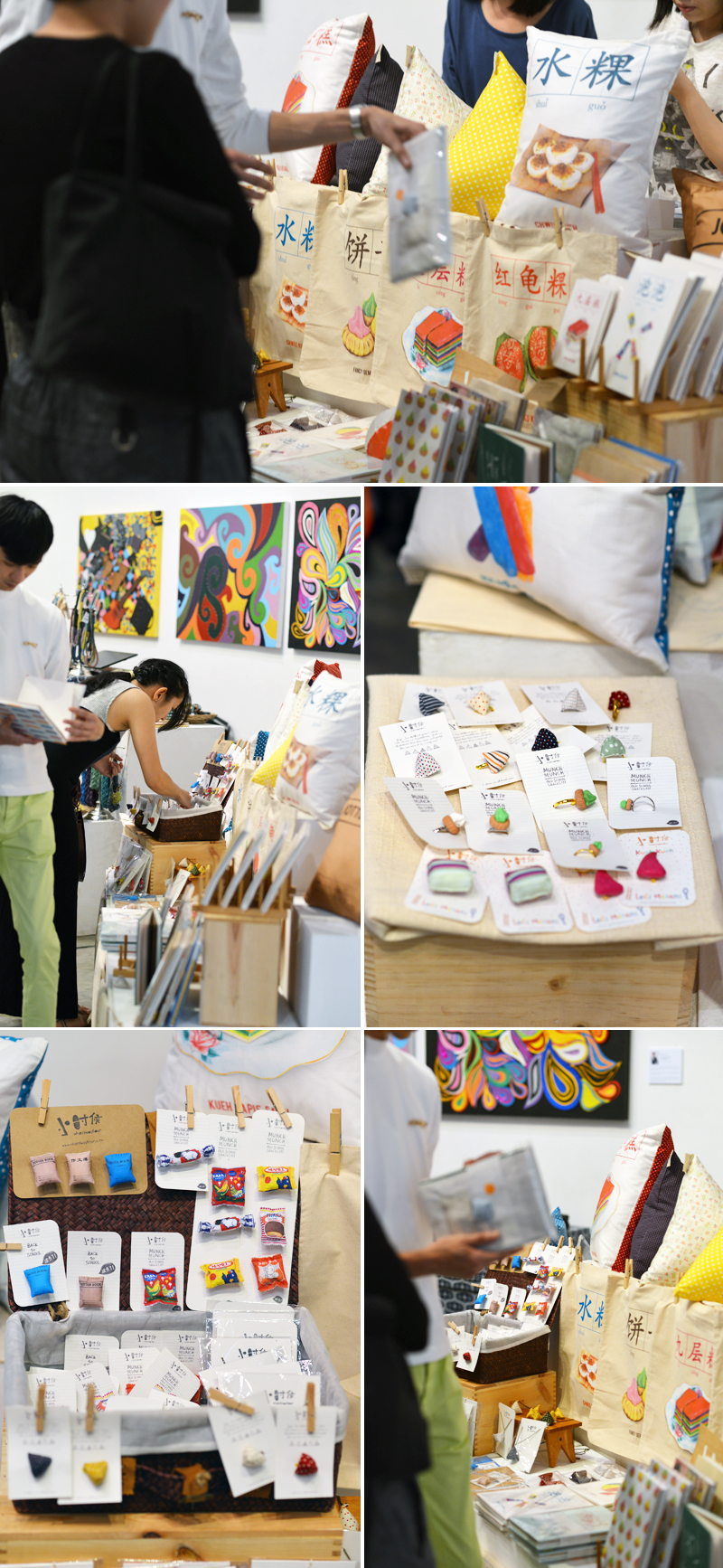 Inspiration Around Singapore [Art + Design Market] via Scissors Paper Stone www.scissorspaperstoneblog.com