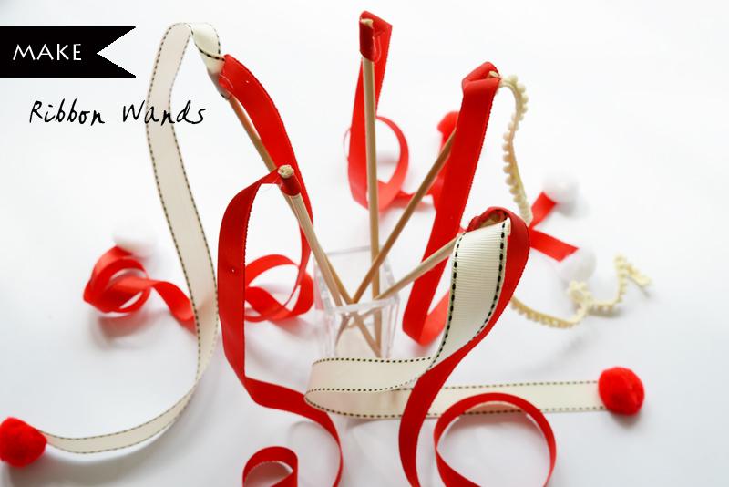 DIY Craft Tutorial : Make Ribbon Wands via www.scissorspaperstoneblog.com