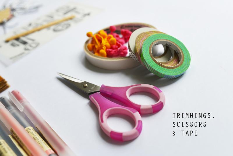 DIY Travel Scrapbook via www.scissorspaperstoneblog.com