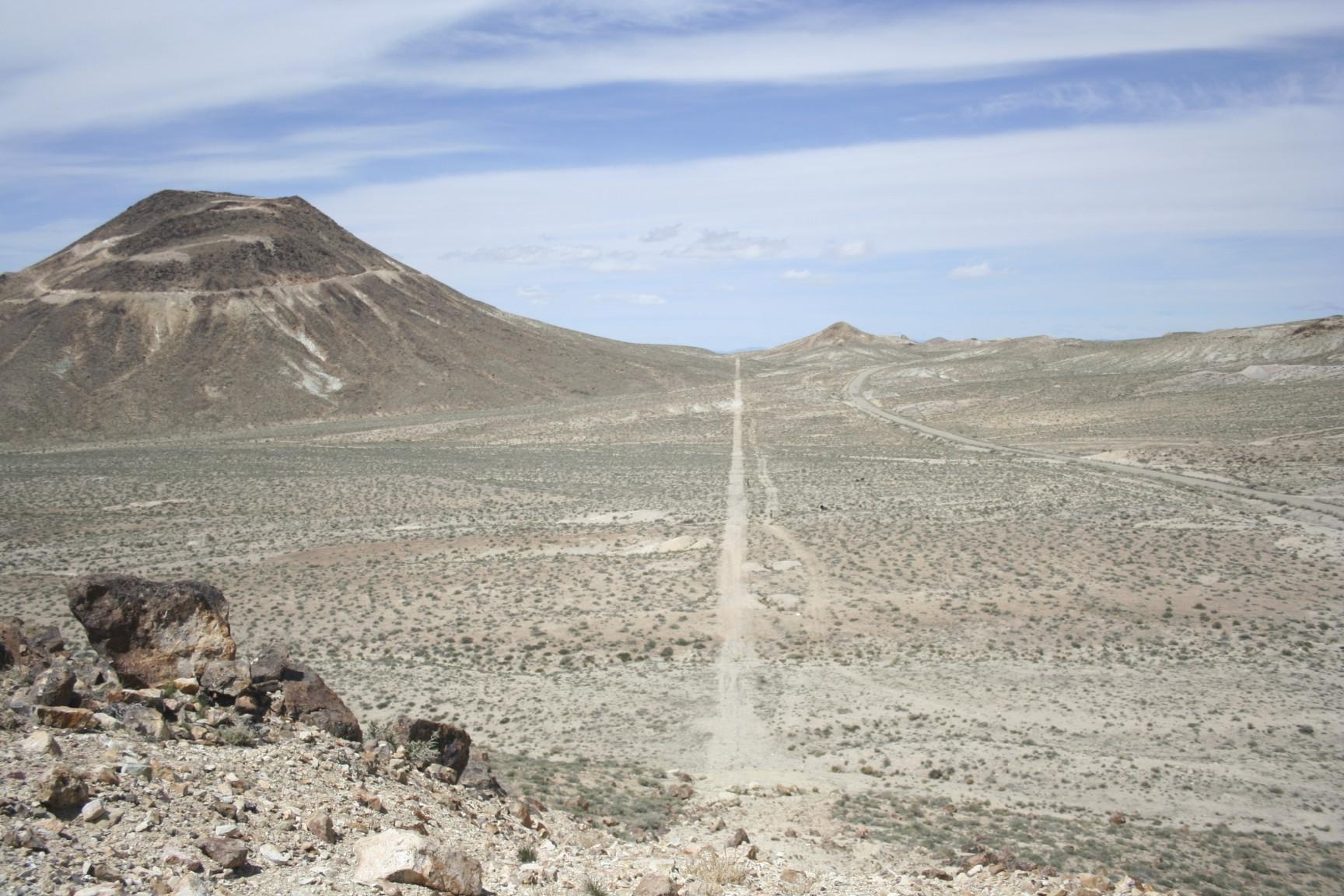 Long central Nevada walk.