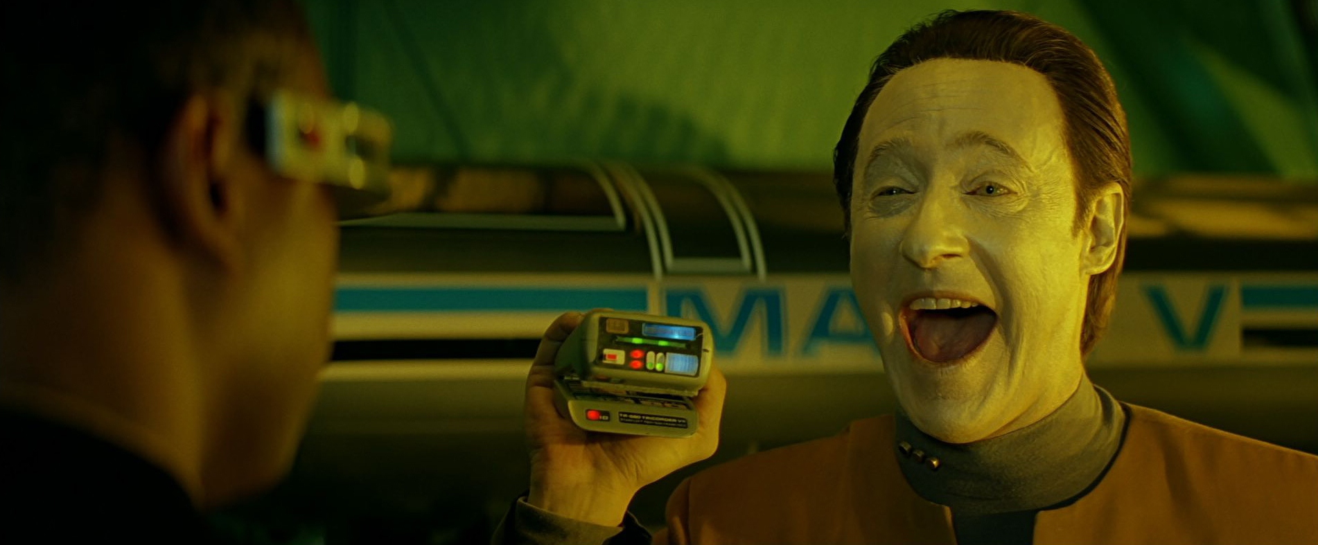 We've got tablets and we really don't know how to use them...just like Data and Mr. Tricorder. Seriously.