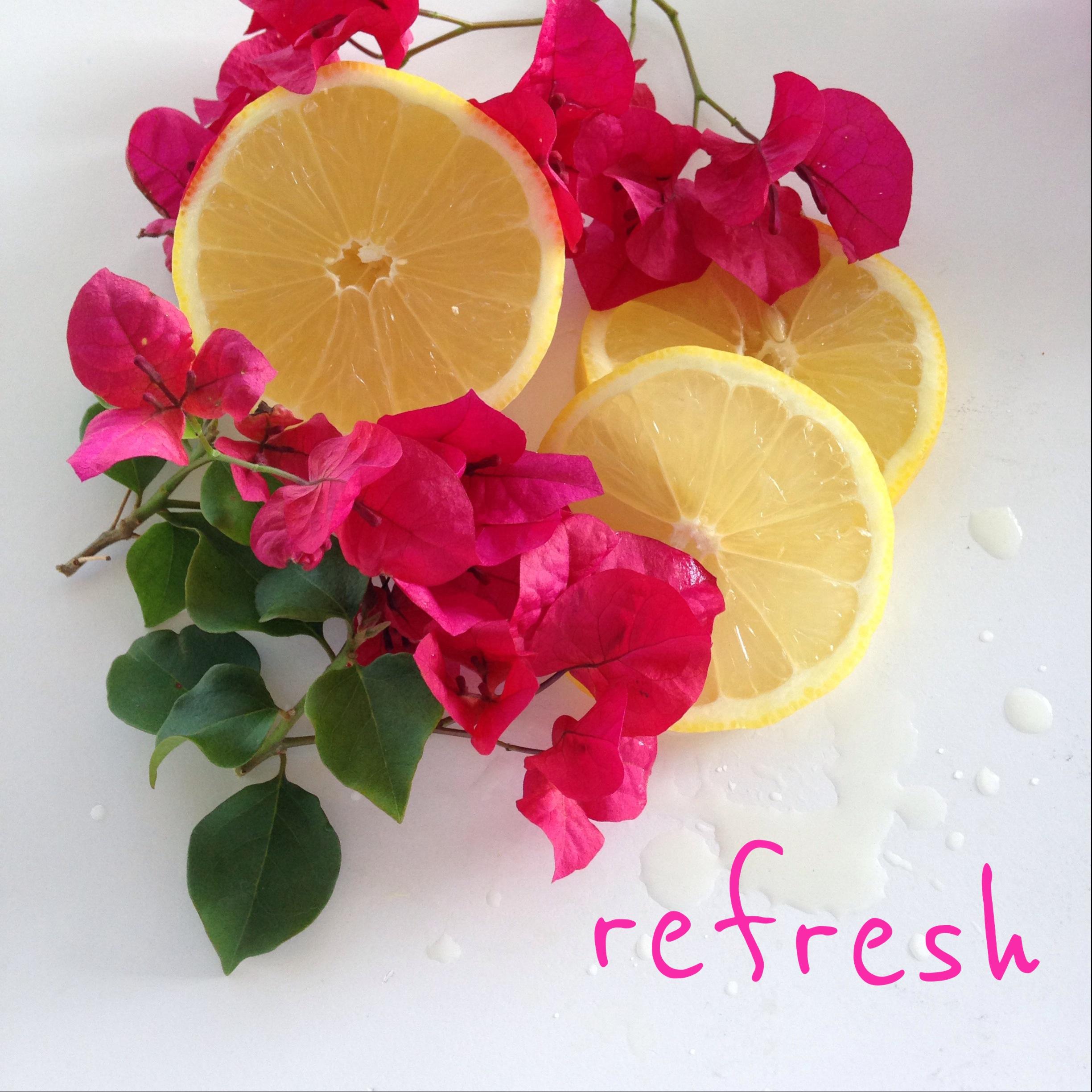 Susan Shepardson   - Lemons are so  Refresh ing...just the scent of a fresh cut lemon, elevates my mood. I should smell lemons more often! : )