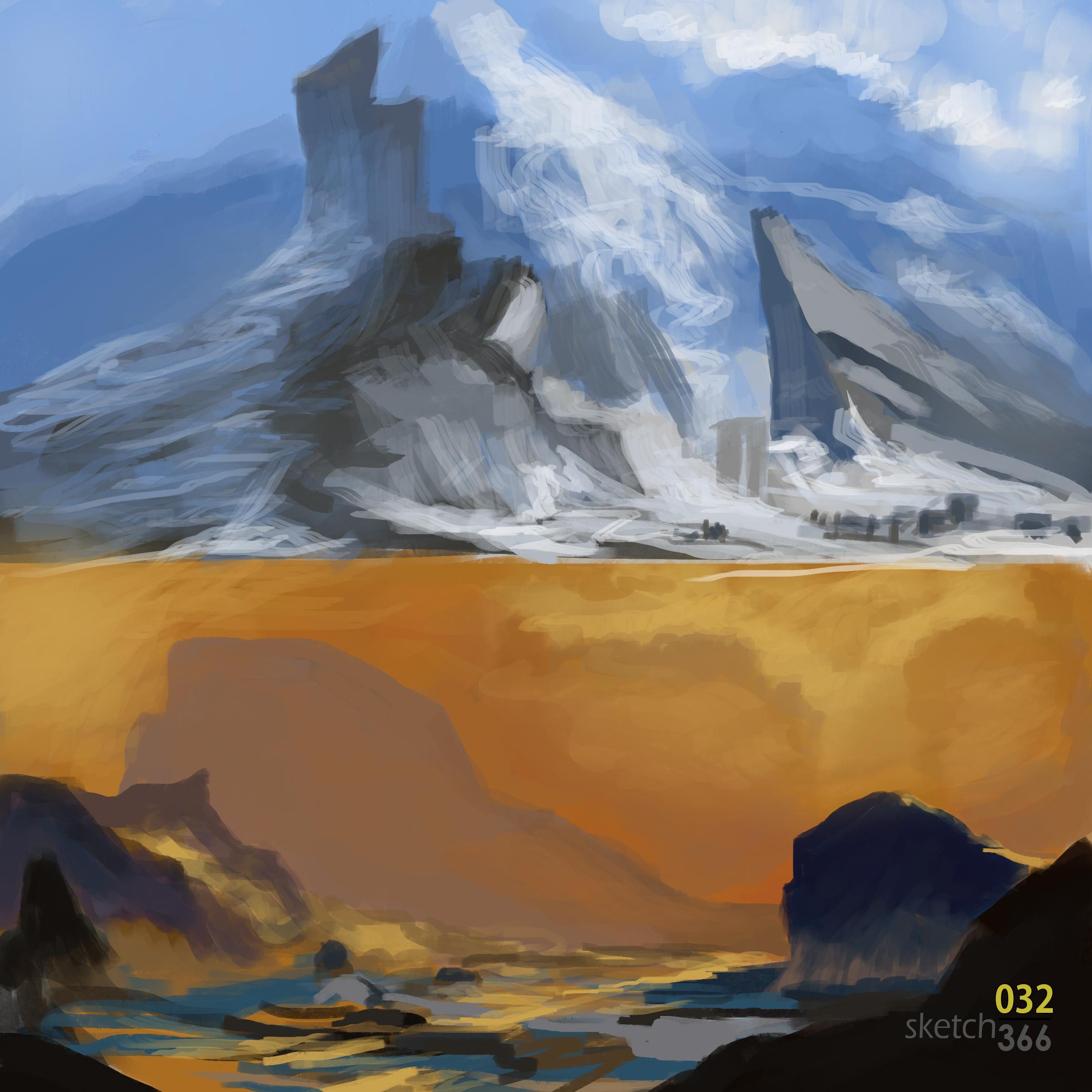 Feng Zhu quick paint - color study - digital paint
