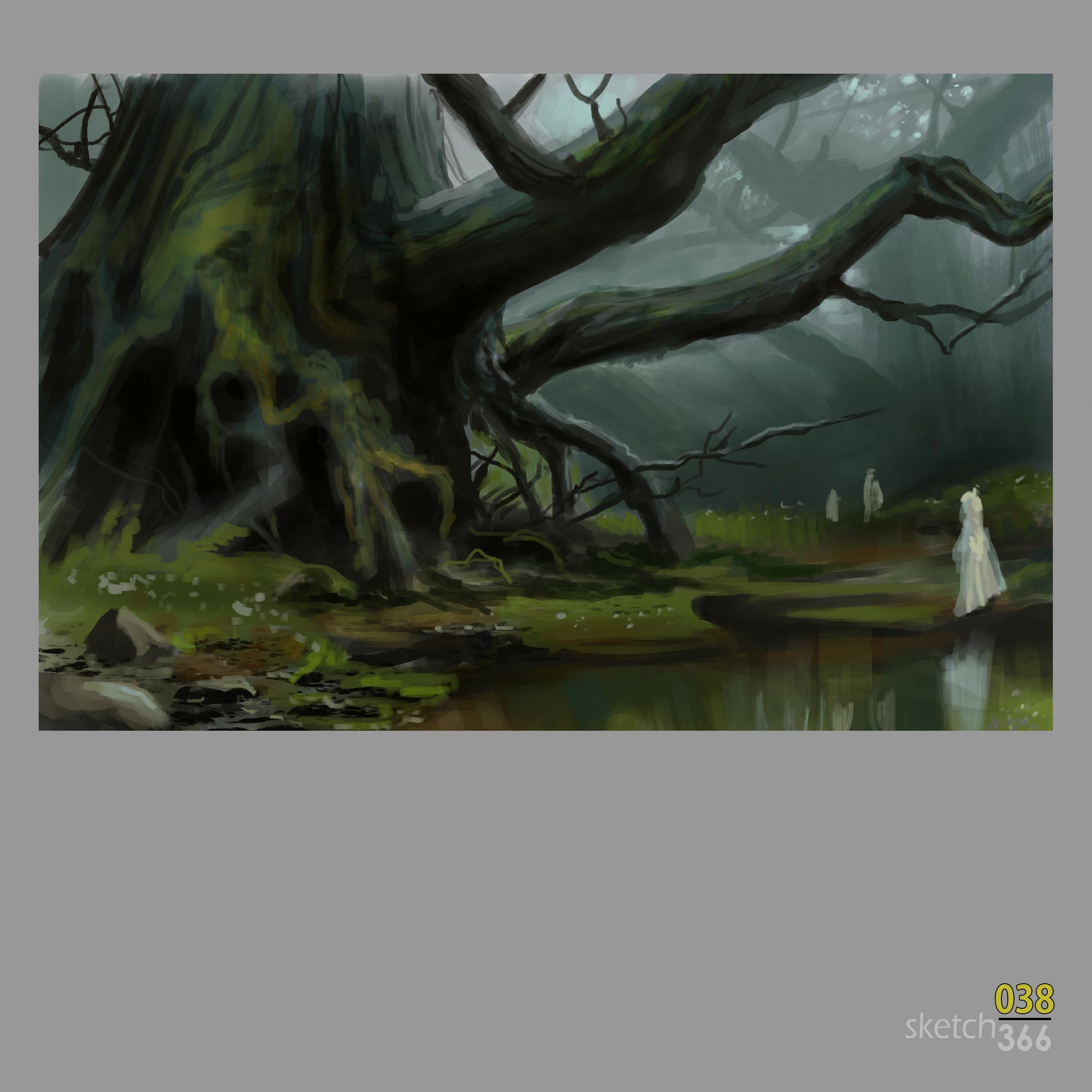 Jaime Jones Master Study - digital paint
