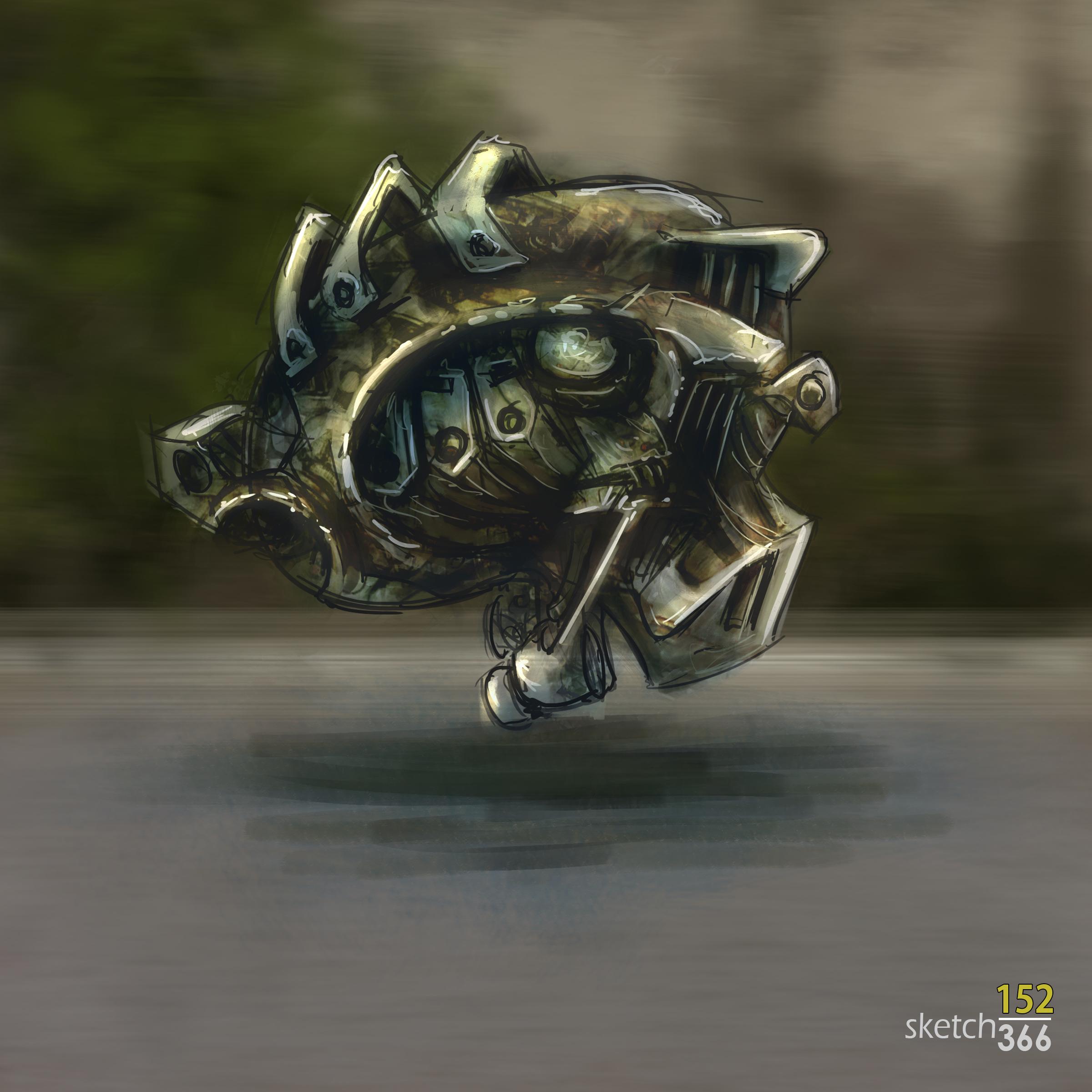 Random alien vehicle