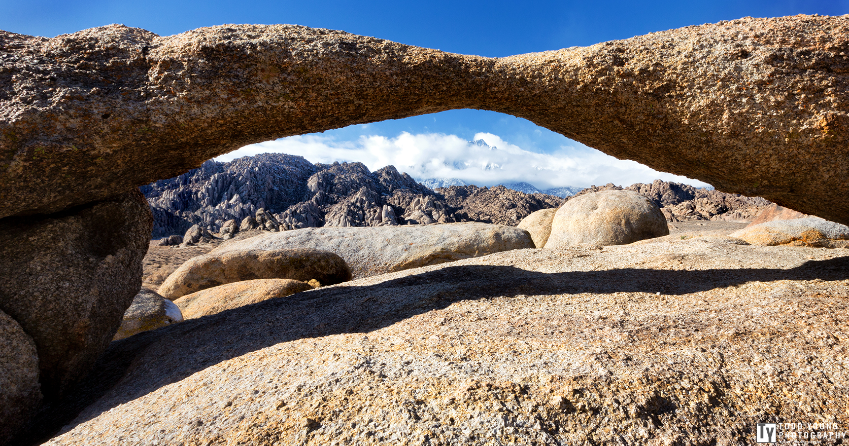 Lathe Arch - Alabama Hills - January 2014