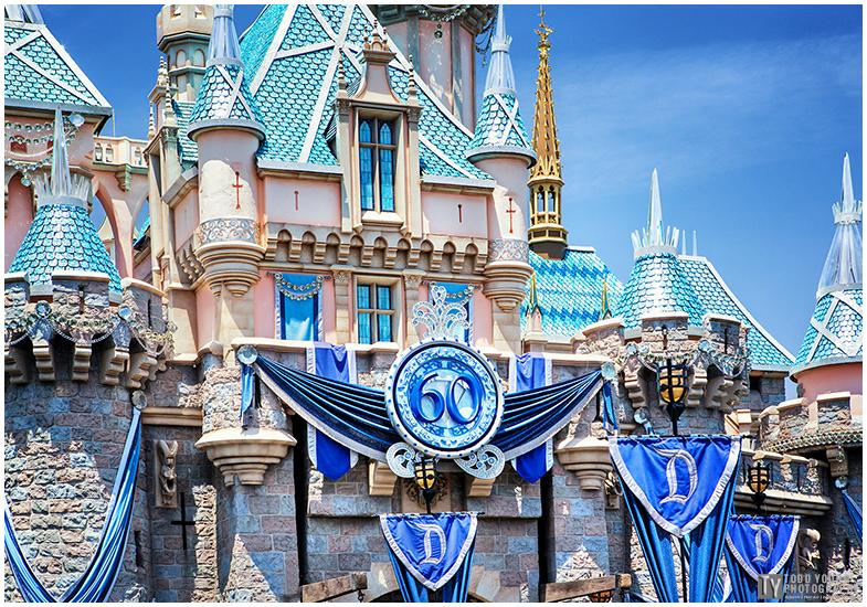 Sleeping Beauty Castle, Disneyland 60th - May 28, 2015