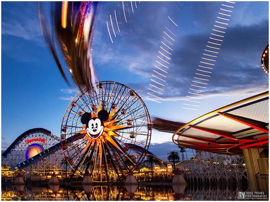 Disney California Adventure - Paradise Pier - January 25, 2015