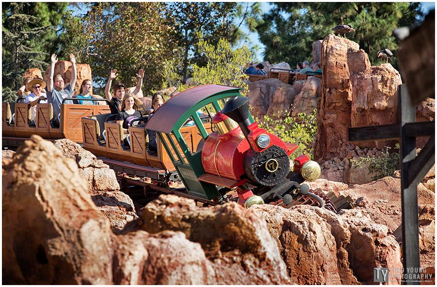 Disneyland Big Thunder Railroad Engine No.7 October 21, 2015
