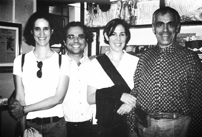 Valéria Campos - Roberto Reveilleau - Isabel Sampaio - Reinaldo Renzo - 1999 no Alcaparra