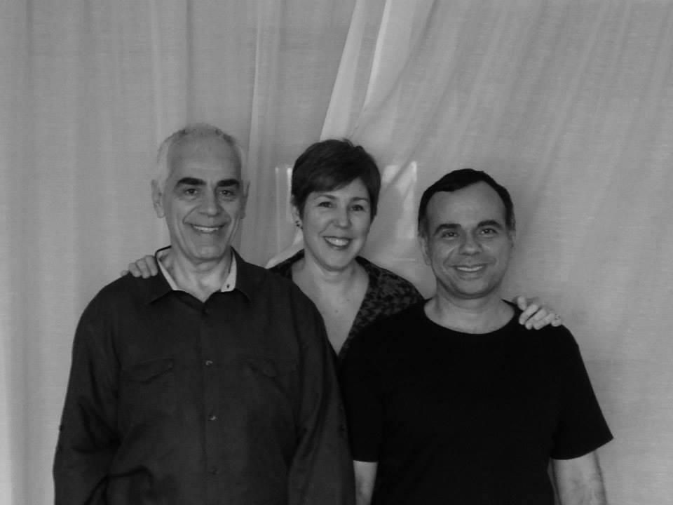 Reinaldo Renzo, Isabel Sampaio e Roberto Reveilleau