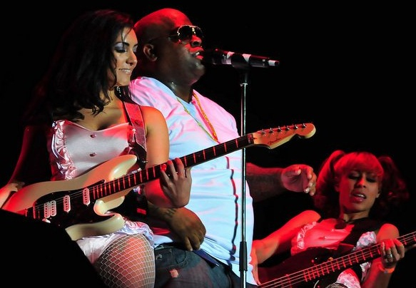 Sharon Aguilar & Cee-Lo Green