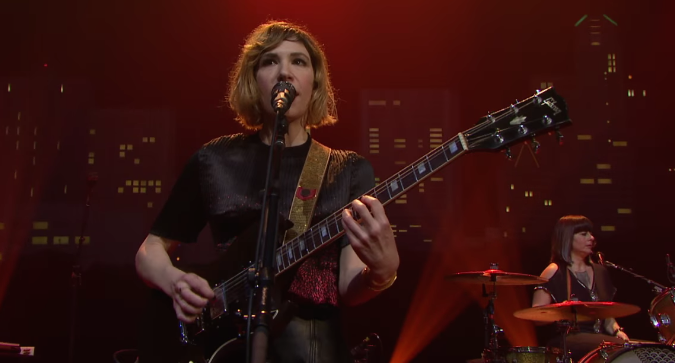 Carrie Brownstein - Sleater Kinney