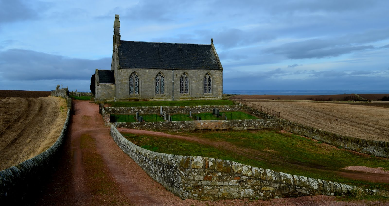 Boarhills Church, Scotland