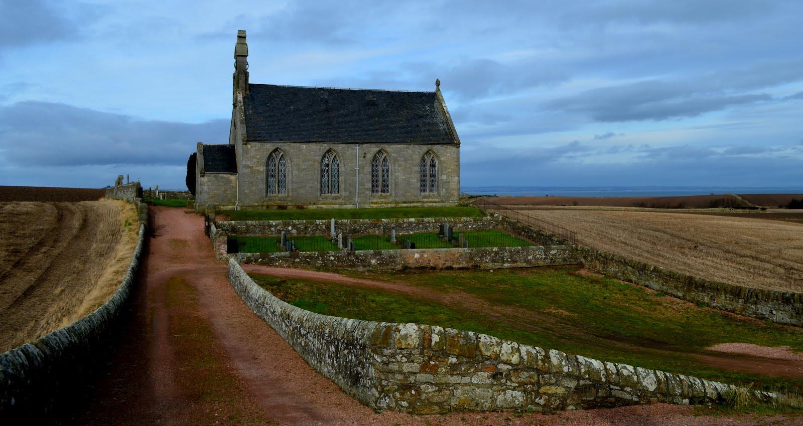 Tour Scotland Photograph Boarhills Church Fife February 17th.jpg