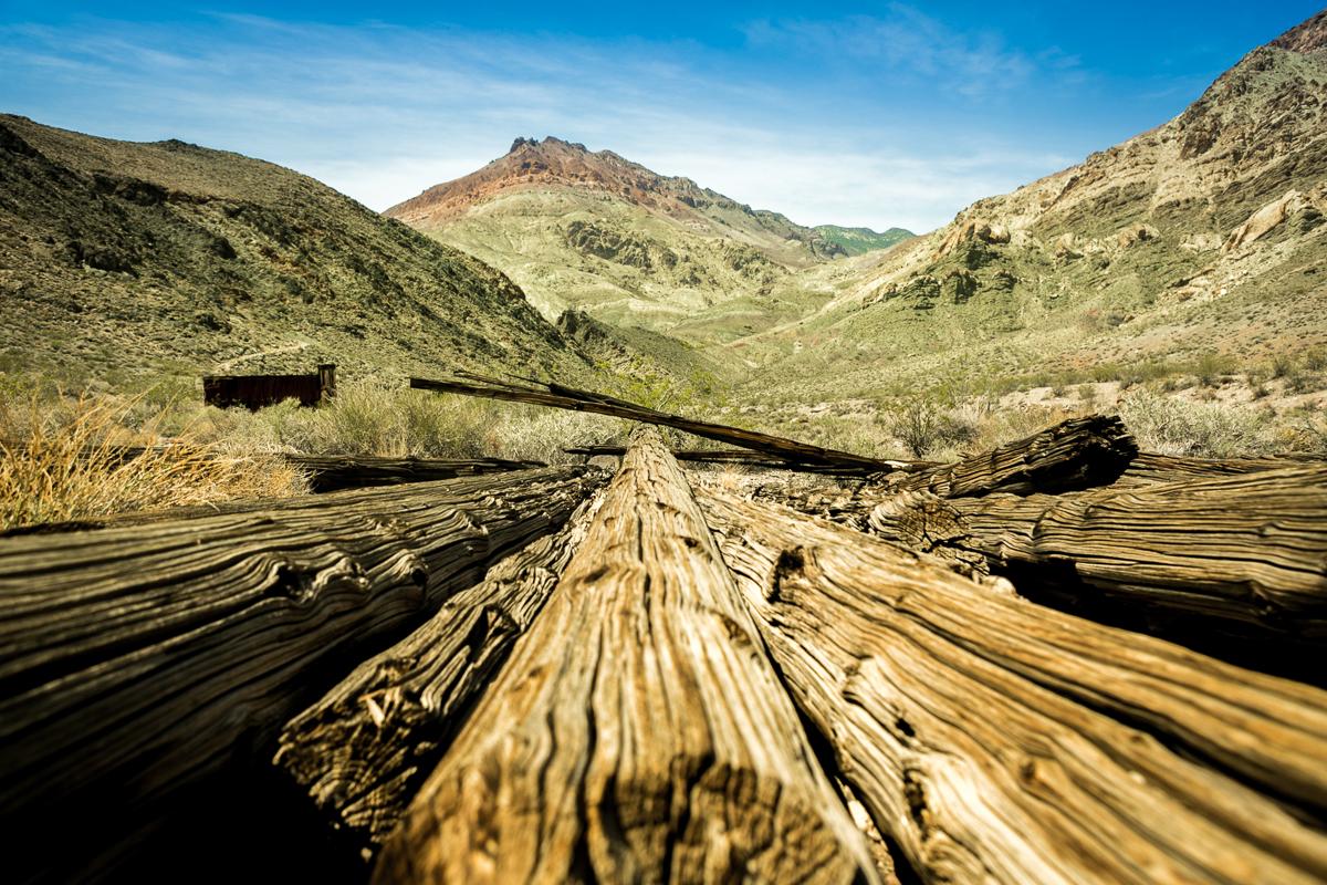 Leadfield Ghost Town - Death Valley