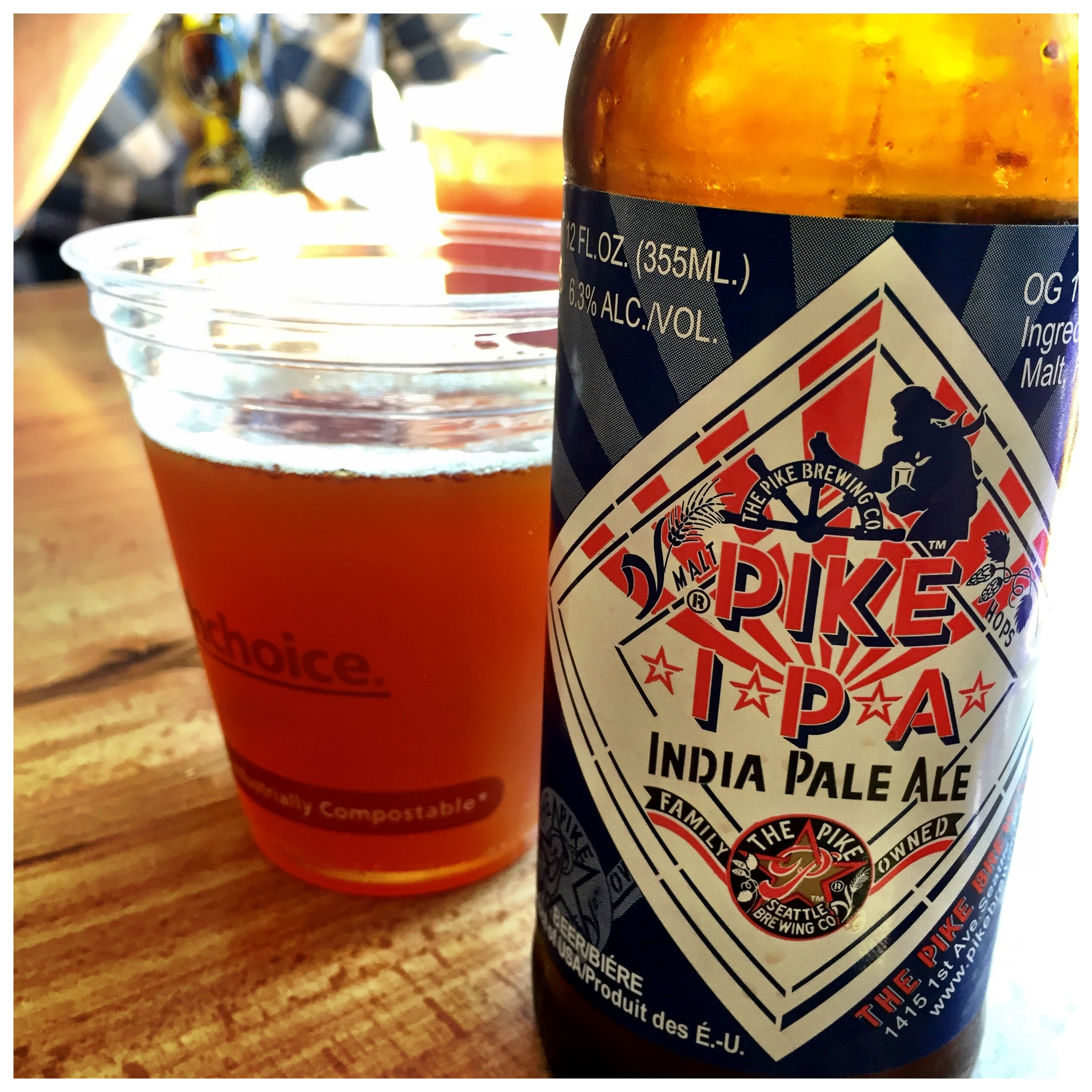 Pike's IPA at Lowell's at Pikes Market