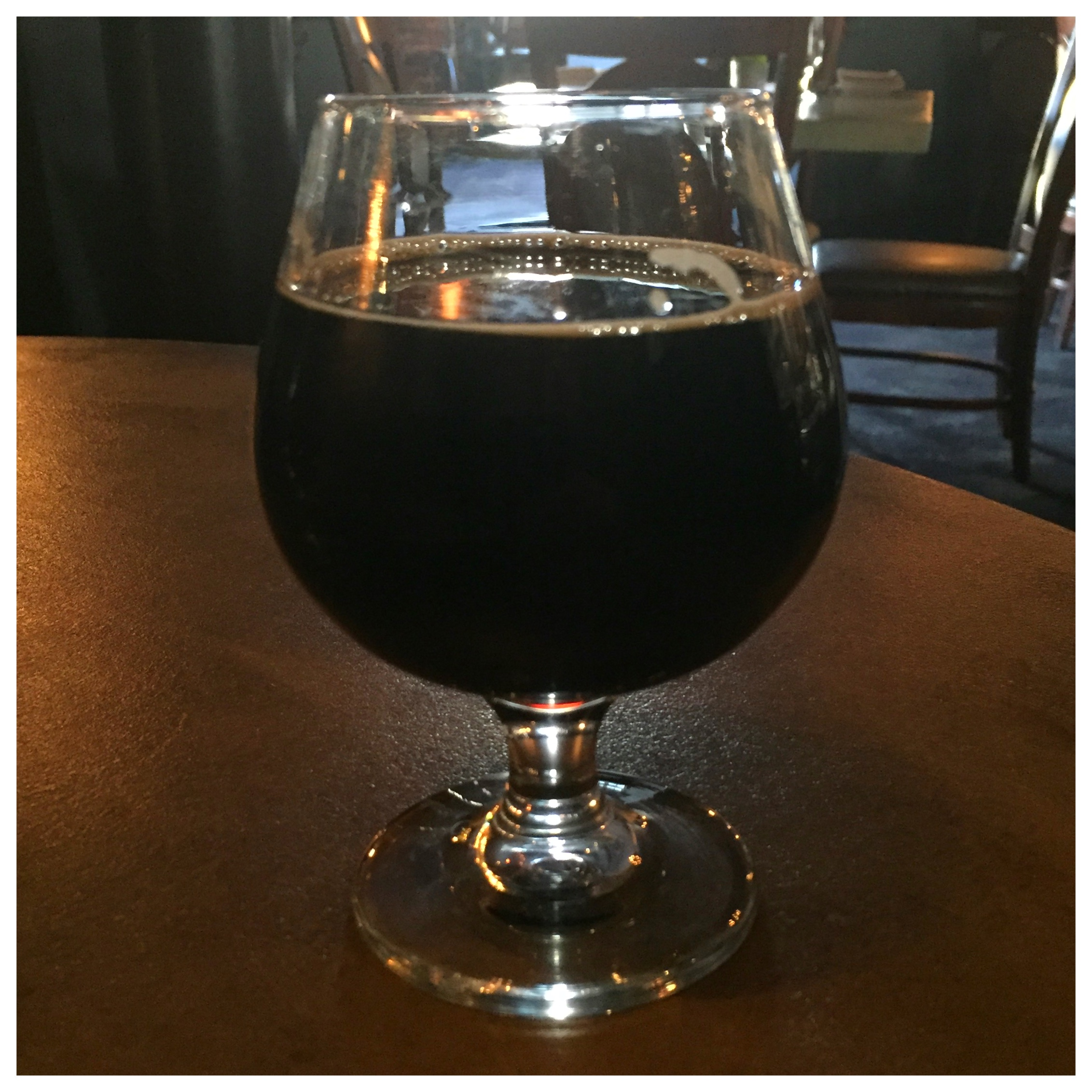 Checkers Bistro and Avery Vanilla Bean Bourbon Barrel Stout