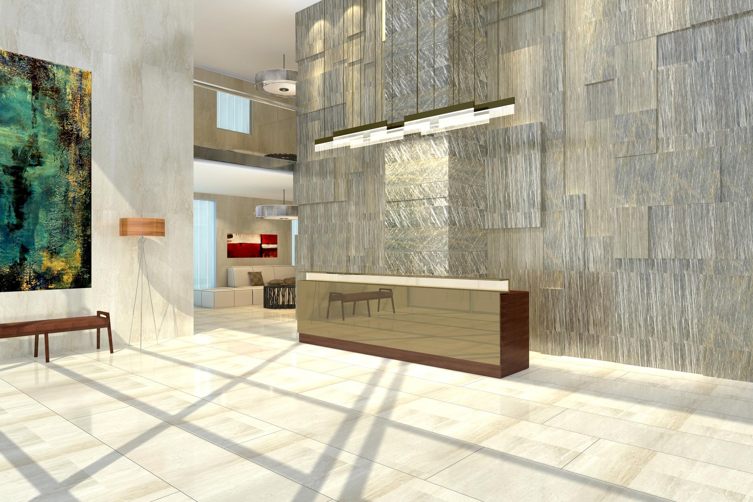 wagholi high-rise lobby