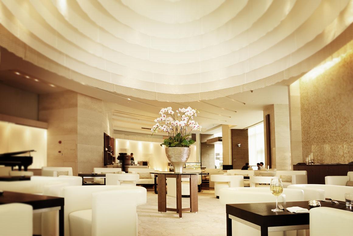 hyatt on the bund - tea lounge