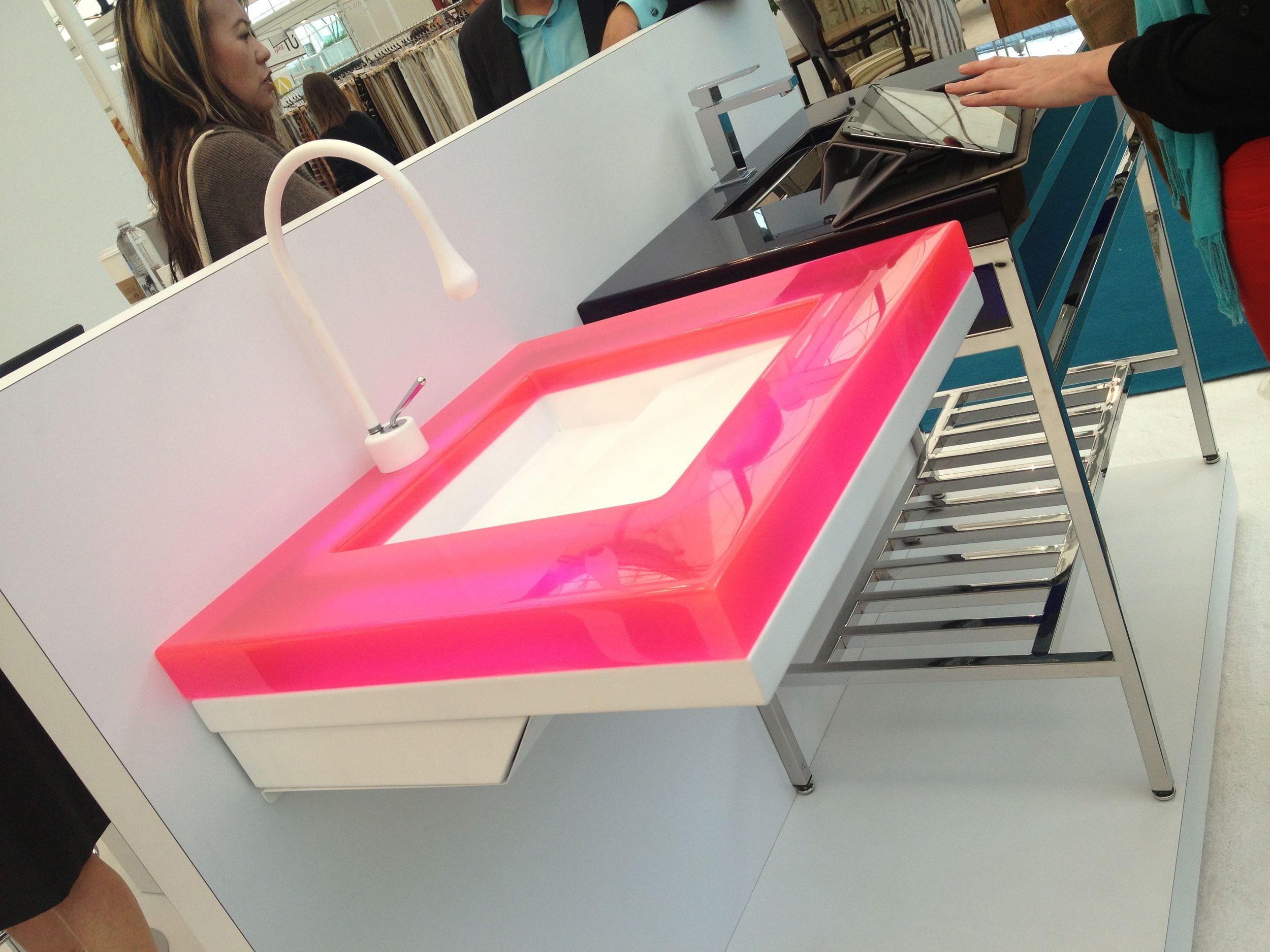 NeoMetro - resin sinks