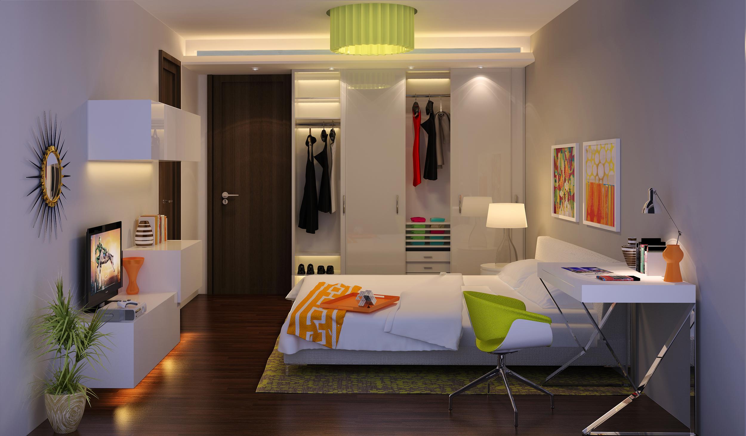 wagholi high-rise 4BHK - kids room