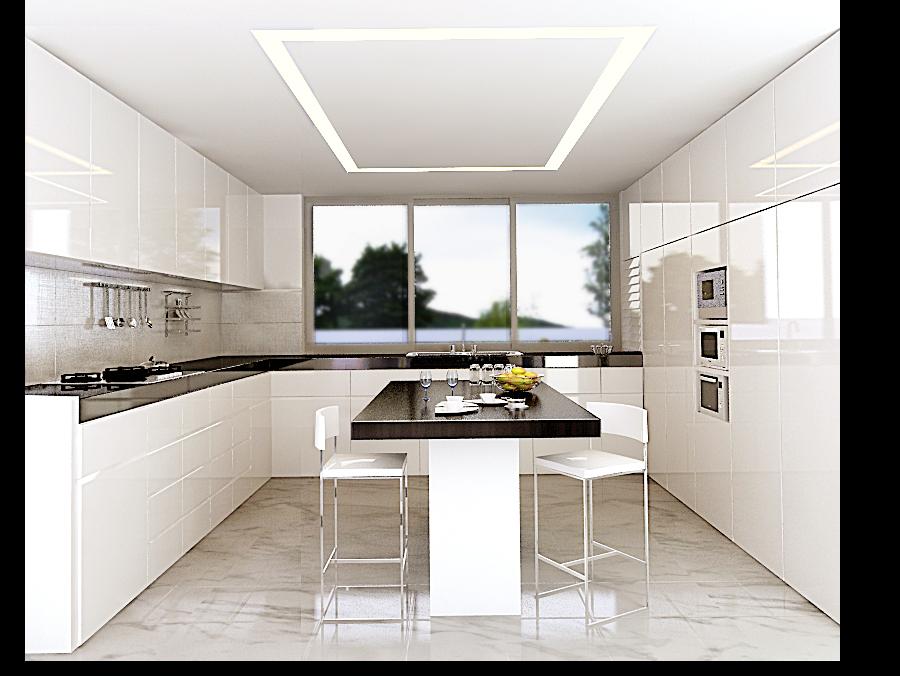 wagholi villa 3 - kitchen