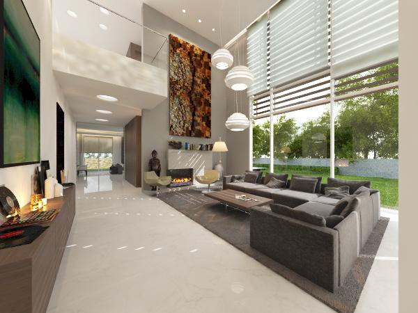 wagholi villa 3 - living room