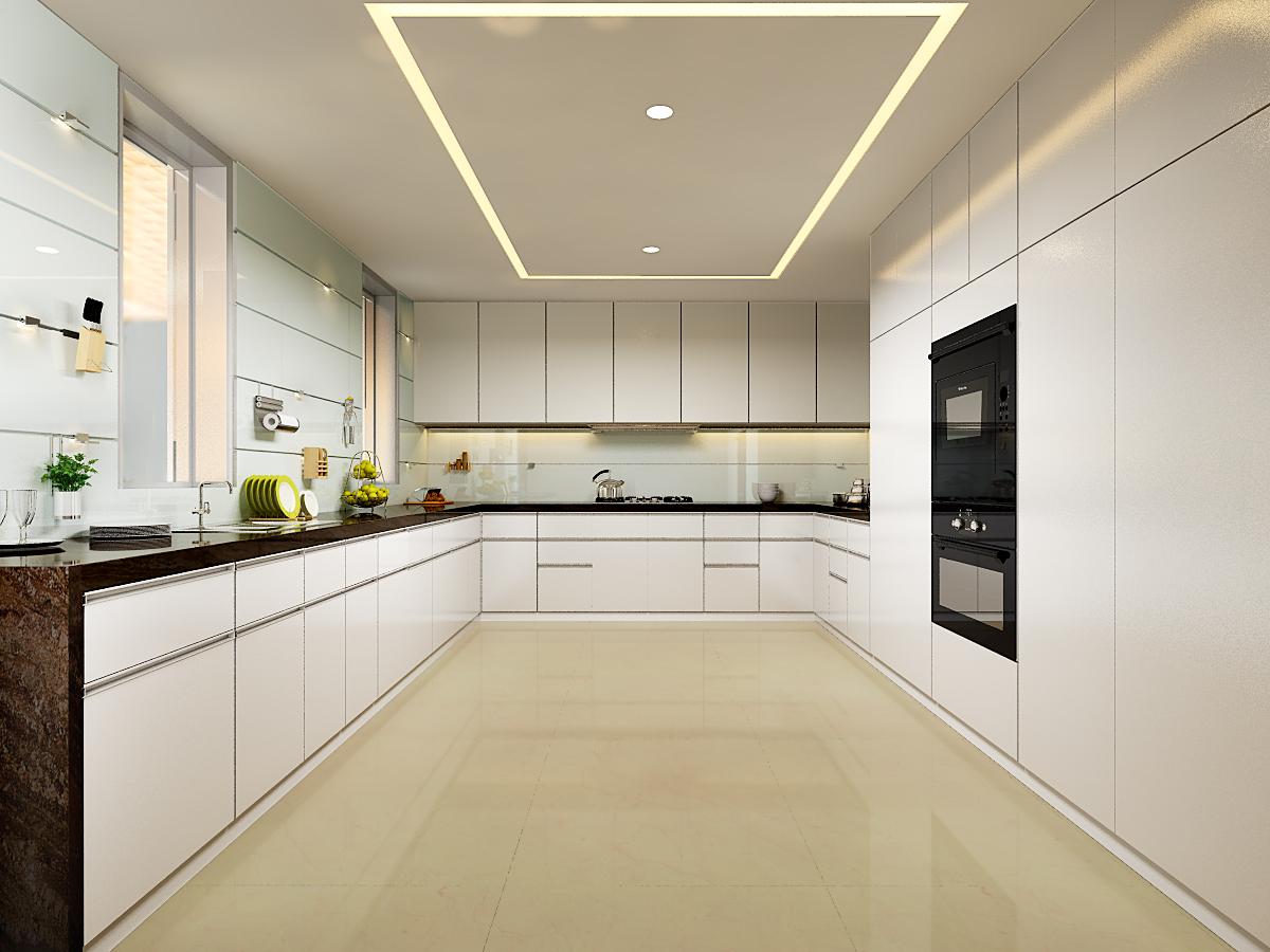 wagholi villa 2 - kitchen