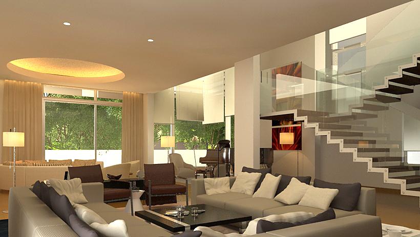 wagholi villa 2 - living room