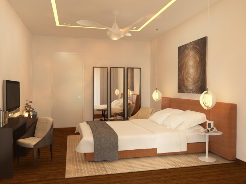 wagholi villa 3 - master bedroom