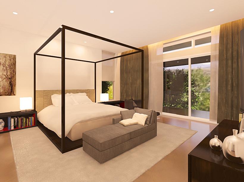 wagholi villa 2 - master bedroom